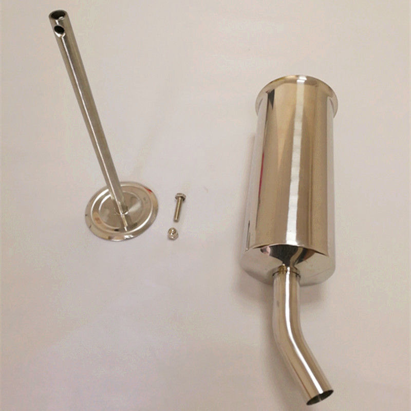 Stainless Steel Vertical Sausage Filler Hand Held Small Size For Restaurants